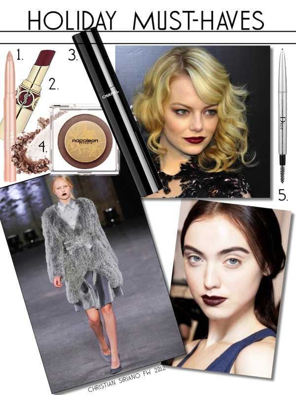 holiday-make-up-must-haves-2012-2013-free-beauty-advice-makeup-tips-fall-trends-winter-trends-burgundy-lips